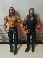 WWE Roman Reigns The Shield Mattel 2013 Wrestling Action Figure lot of 2