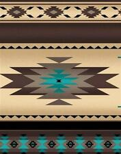 Tucson Southwest Aztec Native American Sepia Stripe Cotton Fabric Fat Quarter