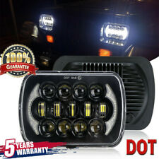 """Newest Brightest 105W 7X6"""" 5X7"""" LED Headlight DRL For Chevrolet Jeep Cherokee JO"""