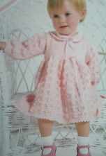Babies Dress/Baby Girls Dress KNITTING PATTERN (MAC044)