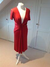 Beautiful Red Silk Paul And Joe Dress