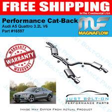 Magnaflow Touring SS Cat-Back For 2008-2010 Audi A5 Quattro 3.2L V6 #16597