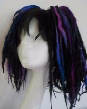 Laine dreads cheveux court automne noir blues festival goth kawaii harajuku cosplay