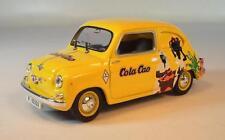 Solido 1/43 Fiat 600D Limousine 1963 gelb Cola Cao #1772