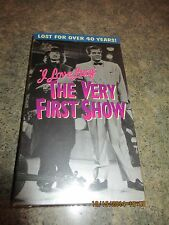New I Love Lucy - The Very First Show  (VHS TAPE) LUCILLE BALL
