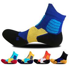 5pairs Mens Sport Ankle Socks Cotton Skiing Skating Cycling Camping Dress Warm
