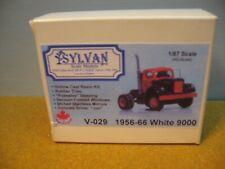 "Ho 1/87 Scale Sylvan V-029 White 1956-66 9000 Tractor Resin ""Kit"" 2 Pic"