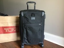TUMI ALPHA 2 INTERNATIONAL FRAMED 4 WHEELED CARRY ON 222060 BLACK $745