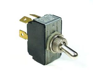 CH Toggle Switch DPST Spade Terminal 15A Amp Cutler Hammer 215 USA Made