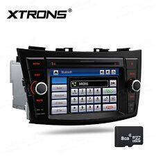 "Suzuki Swift Ertiga Head Unit 7"" HD Car DVD Player GPS NAV Sat Radio BT SD USB"