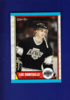 Luc Robitaille HOF 1989-90 O-PEE-CHEE OPC Hockey #88 (NM) Los Angeles Kings