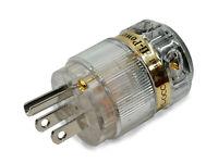 IeGO 8095-Ag Pure Silver Rhodium Plated Hi-End Power Plug