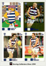 2011 Herald Sun AFL Trading Cards Base Card Team Set Geelong (13)
