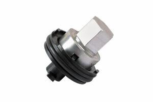 Plastic Sump Plug Removal Tool Fits Peugeot Citroen fits OEM 9801444780 plug