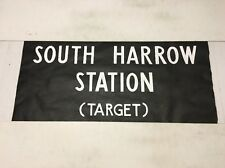 """Leeside Bus Blind (31"""") South Harrow Station Target"""