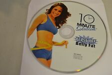 10 Minute Solution: Blast Off Belly Fat (DVD, 2007)Disc Only Free Shipping
