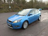 2010 BLUE FORD FOCUS 1.6 TDCI TITANIUM FULLY LOADED PLUS EXTRAS