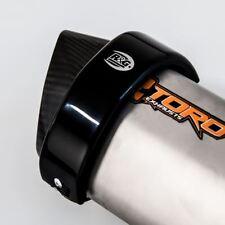 R&G Hexagonal Akrapovic / Toro Hex Motorcycle Exhaust Protector - Black
