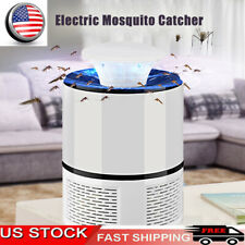 Electric Mosquito Killer Lamp Outdoor/Indoor Fly Bug Insect Zapper Trap USB S6N6