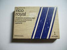 Caja completa nueva/sellada de Lengüetas / cañas Rico Royal nº1