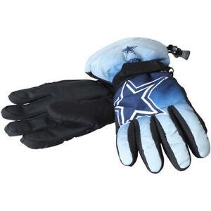 Dallas Cowboys Gloves Big Logo Gradient Insulated Winter NEW Unisex S/M L/XL