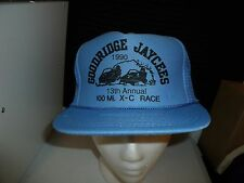 GOODRIDGE JAYCEES 1990 MN SNOWMOBILE Trucker Hat Baseball Cap Unique RETRO Rare