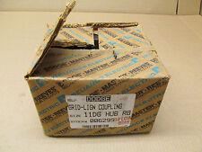 1 NIB DODGE 006299 11DG-HUB-RB GRID COUPLING HUB 1110 ROUGH STOCK BORE (2 AVAIL)
