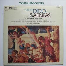 SAN 169 - PURCELL - Dido & Aeneas BARBIROLLO / DE LOS ANGELES - Ex Con LP Record