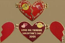 "Hard Rock Cafe ONLINE VALENTINE'S DAY 2001 ""Love Me Tender"" PIN HRO ON-LINE"