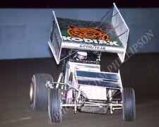 SPRINT CAR PHOTO WORLD OF OUTLAWS SAMMY SWINDELL SAN JOSE 1987