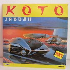 "MAXI 12"" KOTO Jabdah 8702 ITALO DISCO"