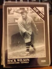1991 The Sporting News Conlon Collection #29 Hack Wilson