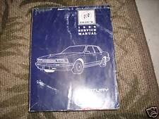 1988 GM Buick Century Service Repair Shop Workshop Manual OEM Factory 88
