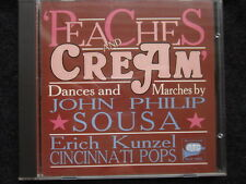 Peaches & Cream: Music By Sousa - Dances & Marches - Erich Kunzel (CD)