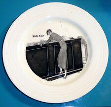 Vintage Art Deco 1930s Cocktail Plate Side Car Crown Ducal Ware