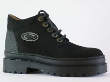 Tty Boys Ankle Boots 33 Black Suede New