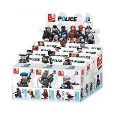 Sluban Police Polizeiagenten Spielfigur Spielzeug Mitbringsel Bauklotzsystem