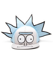 OFFICIAL RICK AND MORTY - RICK FACE/ HAIR COSTUME STYLED SNAPBACK CAP (NEW)