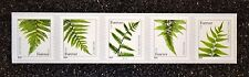 2015Usa #4973-4977 Forever Ferns Pnc Coil Strip of 5 Mint #S1111 (2014 Date)