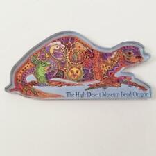 The High Desert Museum Magnet Bend Oregon OR Acrylic Earth Art Travel Souvenir