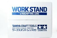 Tamiya craft tool series No.64 workstands lens with plastic 74064  w/Track#