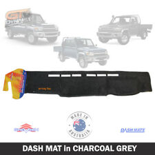 DASH MAT for Toyota Landcruiser 70 76 78 79 Series 7/2009-2019 DM1129 CHARCOAL