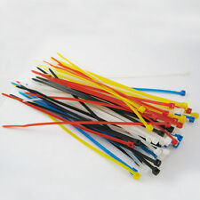 """100 Zip Ties 6"""" Inch Color Nylon Cable Cord Wire Strap 30 Lbs Uv Resistant New"""
