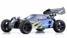 1/10 2.4Ghz Exceed Rc Hyper Speed Off Road Buggy Rtr .16 Nitro Engine Fire Blue