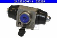 ATE Radbremszylinder 24.3222-0913.3 22,2mm hinten Aluminium für VW GOLF 3 1H1