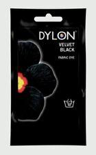 Velvet Black Dylon lavaggio a mano tessuto Abiti Dye 50 G TESSILE COLORE PERMANENTE