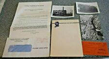 Vintage Railroad Paper Ephemera - Lot Of Six Luzern Postcard