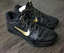 Nike Zoom Kobe VII 7 System Elite Sz 13.5 Black/Gold/Grey Finals MVP 511371-001