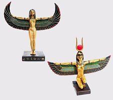 Standing /Sitting Winged Isis Egyptian Statue Goddess  Deity Mythology Figurine