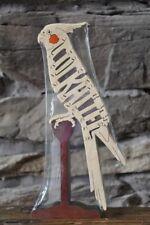 Cockatiel Bird Wood Puzzle Toy Amish Made Scroll Saw Figurine